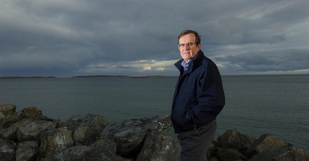 Arnold Lim/News staff<br /> Oak Bay mayor Nils Jensen for sewage story OAK BAY, B.C. March 1, 2016.