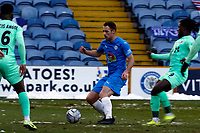 Jordan Keane. Stockport County FC 1-1 Boreham Wood FC. Vanarama National League. Edgeley Park. 23.1.21