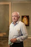 "Bergamo, Giuseppe Vavassori, owner of the Funeral Houose , ""La Casa del Commiato"". Funeral home owner Giuseppe Vavassori, 65, developed short-term memory loss in the aftermath of the coronavirus"