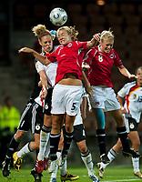 Fotball<br /> EM 2009 kvinner<br /> Semifinale<br /> Tyskland v Norge<br /> Foto: Jussi Eskola/Digitalsport<br /> NORWAY ONLY<br /> <br /> Anneli Giske