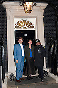 SAM CLARKE; SAMANTHA  CLARKE, Streetsmart Reception at 11 Downing St. London. 1 November 2011. <br /> <br />  , -DO NOT ARCHIVE-© Copyright Photograph by Dafydd Jones. 248 Clapham Rd. London SW9 0PZ. Tel 0207 820 0771. www.dafjones.com.