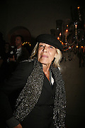 Anita Pallenberg, Biba after-show party organised by Quinessentially.  Royal Duchess Palace, 16 Mansfield Street, London W1. 19 September 2006.  ONE TIME USE ONLY - DO NOT ARCHIVE  © Copyright Photograph by Dafydd Jones 66 Stockwell Park Rd. London SW9 0DA Tel 020 7733 0108 www.dafjones.com
