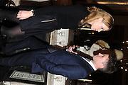 EMMA WIGAN; WOODY STILEMAN, Celebration of the  200TH Anniversary of the  Birth of Rt.Hon. John Bright MP  and the publication of <br /> ÔJohn Bright: Statesman, Orator, AgitatorÕ by Bill Cash MP. Reform Club. London. 14 November 2011. <br /> <br />  , -DO NOT ARCHIVE-© Copyright Photograph by Dafydd Jones. 248 Clapham Rd. London SW9 0PZ. Tel 0207 820 0771. www.dafjones.com.<br /> EMMA WIGAN; WOODY STILEMAN, Celebration of the  200TH Anniversary of the  Birth of Rt.Hon. John Bright MP  and the publication of <br /> 'John Bright: Statesman, Orator, Agitator' by Bill Cash MP. Reform Club. London. 14 November 2011. <br /> <br />  , -DO NOT ARCHIVE-© Copyright Photograph by Dafydd Jones. 248 Clapham Rd. London SW9 0PZ. Tel 0207 820 0771. www.dafjones.com.