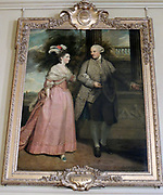 Painting of Henry Loftus, 1st Earl of Ely and wife Frances Monroe, Countess of Ely 1775. Sir Joshua Reynolds