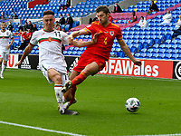 Football - 2020 / 2021 UEFA Nations League - Group B4 - Wales vs Bulgaria<br />      <br /> <br /> in a match played with no crowd due to Covid 19 coronavirus emergency regulations, in an almost empty ground, at the Cardiff City Stadium.<br /> <br /> COLORSPORT/WINSTON BYNORTH