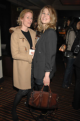 left to right, MRS CHARLES FINCH and actress ROSAMUND PIKE at a lunch hosted by Ralph Lauren to present their Spring 2007 collection in support of the Serpentine Gallery's Education Programme, held at Fifty, 50 St.James's Street, London SW1 on 20th March 2007.<br /><br />NON EXCLUSIVE - WORLD RIGHTS