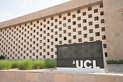 UCL Doha campus building in education City in Doha, Qatar