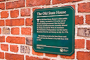 The Old State House on the Freedom Trail, Boston, Massachusetts