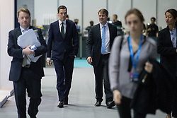 © Licensed to London News Pictures . 05/10/2015 . Manchester , UK . Chancellor GEORGE OSORNE at the Conservative Party Conference at the Manchester Central Convention Centre , this morning (5th October 2015) . Photo credit : Joel Goodman/LNP