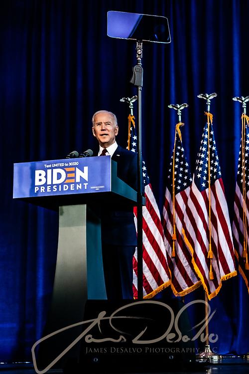 Joe Biden Iran Speech - Chelsea Piers, NYC at Current