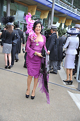 NANCY DELL'OLIO at day 2 of the 2011 Royal Ascot Racing festival at Ascot Racecourse, Ascot, Berkshire on 15th June 2011.