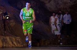 Roman Horvat during FIBA Europe Eurobasket 2013 draw ceremony on November 18, 2012 in Postojna cave, Postojna, Slovenia. (Photo By Vid Ponikvar / Sportida)