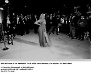 Sally Kirkland at the Vanity Fair Oscar Night Party Mortons,  Los Angeles. 25 March 1996<br /><br />© Copyright Photograph by Dafydd Jones<br />66 Stockwell Park Rd. London SW9 0DA<br />Tel 0171 733 0108