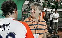 CHENNAI- Champions Trophy Hockey.  KNHB-voorzitter Andre Bolhuis. bij verhaal sport  ANP PHOTO KOEN SUYK