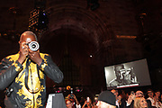 NEW YORK, NEW YORK-JUNE 4: Photographer Jamel Shabazz makes an image of the audience during the 2019 Gordon Parks Foundation Awards Dinner and Auction Inside celebrating the Arts & Social Justice held at Cipriani 42nd Street on June 4, 2019 in New York City. (Photo by Terrence Jennings/terrencejennings.com)