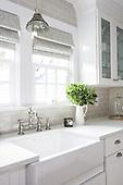 LCM   Bright Updated Farmhouse Kitchen by Lillian C Morea Interiors