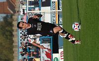 Photo: Ian Hebden.<br />Chesterfield United v Swansea City. Coca Cola League 1. 14/10/2006.<br />Swansea goal scorer Leon Britton.