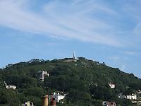 View of Killiney Hill in Dublin Ireland