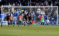 Photo: Alan Crowhurst.<br />Millwall v Swansea City. Coca Cola League 1. 31/03/2007.<br />Millwall's Neil Harris (R) scores from the penalty spot 2-0.