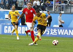 July 14, 2018 - Saint Petersbourg, Russie - SAINT PETERSBURG, RUSSIA - JULY 14 : Eden Hazard midfielder of Belgiumduring the FIFA 2018 World Cup Russia Play-off for third place match between Belgium and England at the Saint Petersburg Stadium on July 14, 2018 in Saint Petersburg, Russia, 14/07/18 (Credit Image: © Panoramic via ZUMA Press)