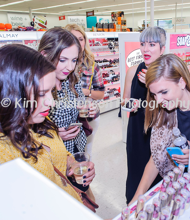 """Walgreens kicks off """"Boots beauty at Walgreens"""" at the W. Gray store with many make up artists and skin specialists to help the invited guests with all their make up needs.  10/08/15 (Photos by ©Kim Christensen)"""