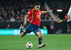 March 23, 2019 - Valencia, Valencia, Spain - of Spain in action during European Qualifiers championship, , football match between Spain and Norway, March 23th, in Mestalla Stadium in Valencia, Spain. (Credit Image: © AFP7 via ZUMA Wire)