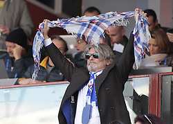 November 19, 2017 - Genoa, Italy - Massimo Ferrero during Serie A match between Sampdoria v Juventus, in Genova, on November 19, 2017  (Credit Image: © Loris Roselli/NurPhoto via ZUMA Press)