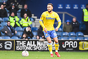 Leeds United Midfielder Lewis Baker (34) during the The FA Cup match between Queens Park Rangers and Leeds United at the Loftus Road Stadium, London, England on 6 January 2019.
