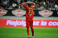 FOOTBALL - FRENCH CHAMPIONSHIP 2010/2011 - L2 - LEMANS FC v FC NANTES - 27/05/2011 - PHOTO GUY JEFFROY / DPPI - DISAPPOINTMENT THORSTEN HELSATD (MANS)