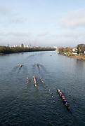 Chiswick. London. Saturday. 23.01.2016. Quintin Head. River Thames.   [Mandatory Credit: Peter Spurrier/Intersport-images.com