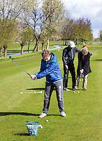 WILNIS - kennismaken met golf tijdens Open Golfdag op Wilnis Golfpark . . COPYRIGHT KOEN SUYK