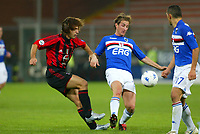 Genova 30-10-2004<br /> <br /> Campionato  Serie A Tim 2004-2005<br /> <br /> Sampdoria Milan<br /> <br /> nella  foto Andrea Pirlo Milan (L), Aimo  Diana Sampdoria (R)<br /> <br /> Foto Snapshot / Graffiti