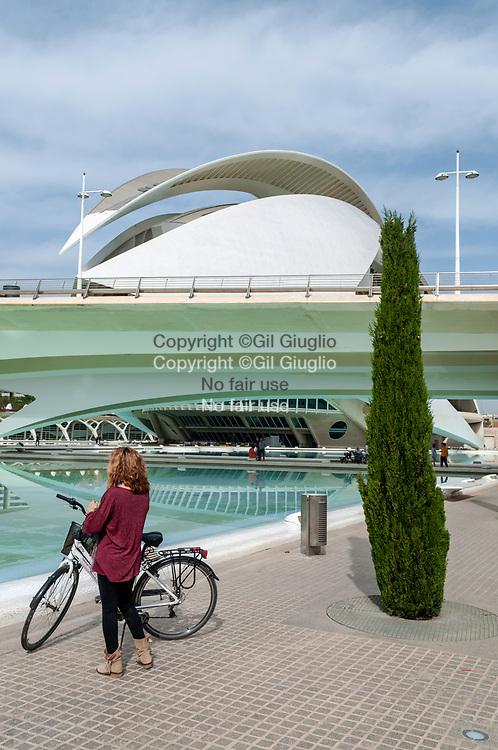Espagne, Valence, Cité des Arts et des Sciences // Spain, Valencia, City of Arts and Sciences