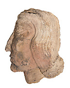 Mesopotamian Terracotta face early secon millennium BCE
