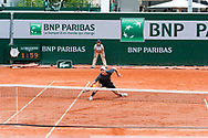 Peter Polansky (can) during the Roland Garros French Tennis Open 2018, Preview, on May 21 to 26, 2018, at the Roland Garros Stadium in Paris, France - Photo Pierre Charlier / ProSportsImages / DPPI