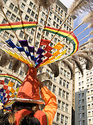 performance of the Suri Sikuris a Bolivian dance in New York City