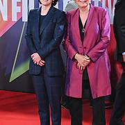 Georgia Pritchett attended 'Succession' European Premiere I BFI London Film Festival 2021, 15 October 2021 Southbank Centre, Royal Festival Hall, London, UK.