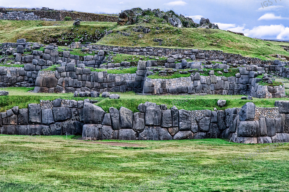 Sacsayhuaman Ruins in Peru