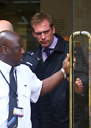 ©Licensed to London News Pictures. 31/05/2011. Hertford, UK.  Adam Cottrel leaves at Hertford Magistrates Court. He pleaded guilty to beating up ex-fiance and ex-Eastenders star Natalie Cassidy. Photo credit should read: London News Pictures