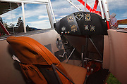 Cockpit of 1938 Rearwin Speedster.