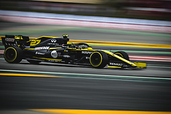 May 11, 2019 - Barcelona, Catalonia, Spain - NICO HULKENBERG (GER) from team Renault drives in his RS19 during the third practice session of the Spanish GP at Circuit de Catalunya (Credit Image: © Matthias Oesterle/ZUMA Wire)