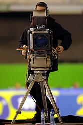 28-12-2010 SCHAATSEN: KPN NK ALLROUND EN SPRINT: HEERENVEEN<br /> Cameraman Peter Groeneveld<br /> ©2010-WWW.FOTOHOOGENDOORN.NL