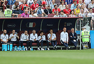 Staff of France during the 2018 FIFA World Cup Russia, Group C football match between Denmark and France on June 26, 2018 at Luzhniki Stadium in Moscow, Russia- Photo Tarso Sarraf / FramePhoto / ProSportsImages / DPPI