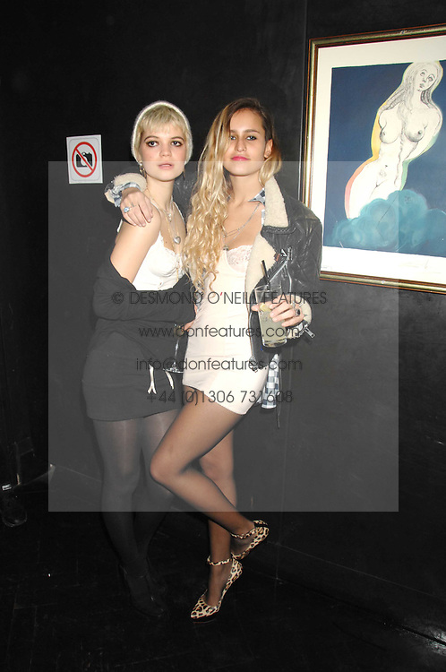 Left to right,  PIXIE GELDOF and ALICE DELLAL at Andy & Patti Wong's Chinese new Year party held at County Hall and Dali Universe, London on 26th January 2008.<br /> <br /> NON EXCLUSIVE - WORLD RIGHTS (EMBARGOED FOR PUBLICATION IN UK MAGAZINES UNTIL 1 MONTH AFTER CREATE DATE AND TIME) www.donfeatures.com  +44 (0) 7092 235465