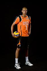 25-04-2013 VOLLEYBAL: NEDERLANDS MANNEN VOLLEYBALTEAM: ROTTERDAM<br /> Selectie Oranje mannen seizoen 2013-2014 / FIVB Heroes Nimir Abdelaziz <br /> ©2013-FotoHoogendoorn.nl
