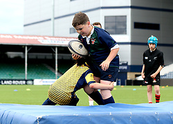 Worcester Warriors host a half term rugby training camp at Sixways - Mandatory by-line: Robbie Stephenson/JMP - 30/05/2017 - RUGBY - Sixways Stadium - Worcester, England - Worcester Warriors Half Term Camp