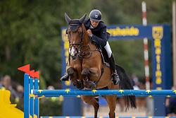 Thiry Kim, BEL, Freedom de SB<br /> Belgisch Kampioenschap Jumping  <br /> Lanaken 2020<br /> © Hippo Foto - Dirk Caremans<br /> 03/09/2020