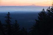 Sunrise in Olympic National Park, Washington.