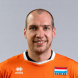 Wouter Ter Maat of Netherlands, Photoshoot selection of Orange men's volleybal team season 2021on may 11, 2021 in Arnhem, Netherlands (Photo by RHF Agency/Ronald Hoogendoorn)