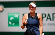 Marketa Vondrousova of the Czech Republic during the Roland-Garros 2021, Grand Slam tennis tournament on June 6, 2021 at Roland-Garros stadium in Paris, France - Photo Rob Prange / Spain ProSportsImages / DPPI / ProSportsImages / DPPI